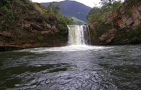 Cachoeira do Caodeirão - Possui Mais 10 Metros de Profundidade