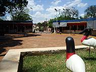 Praça do Imigrante,artesanato Local