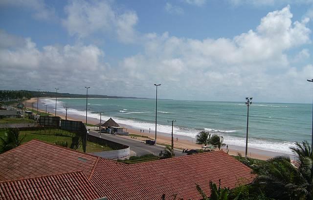 Amanhecer na Praia Cruz das Almas