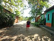 Caraíva... ruas de areia fofa, sem automóveis, casinhas coloridas!