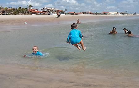 Praia do Presídio - Ótima Pra Crianças na Maré Baixa