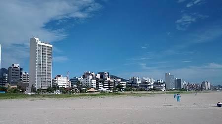 Praia Brava - Caiobá - Vista parcial da praia.