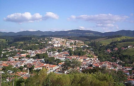 Cidade de Cabreuva - Vista panorâmica da cidade, observada do Cruzeiro de Cabreuva