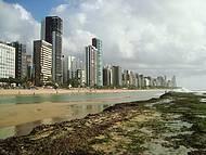 Praia de Boa Viagem,maré Baixa
