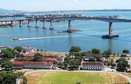 Dar um pulo em Vila Velha - Vista do Convento é espetacular