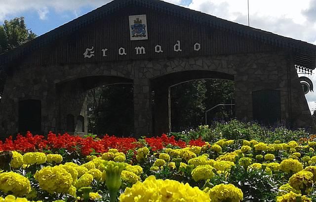 Portico entrada de Gramado