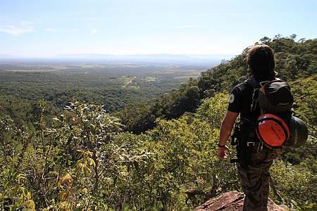 A 1.300 metros de altitude, Vale do Paraná é usado para voo livre