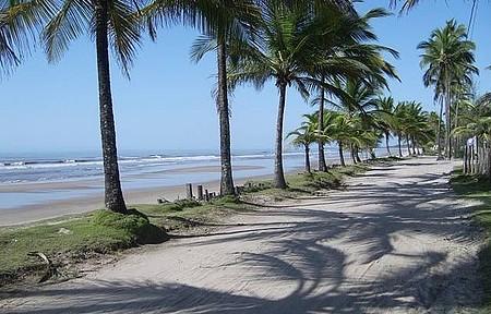 Praia da Costa, Caminho de Acesso a Praia do Albino