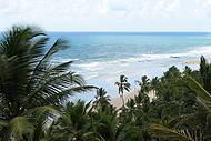 Uma praia tranquila. Perfeita para relaxar.