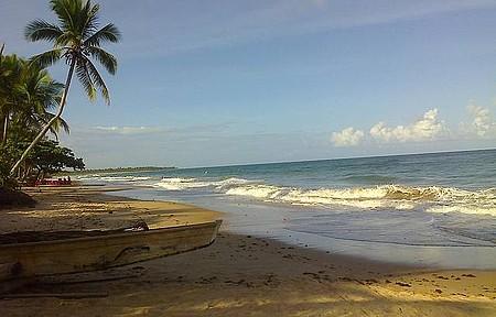Passeio pela praia