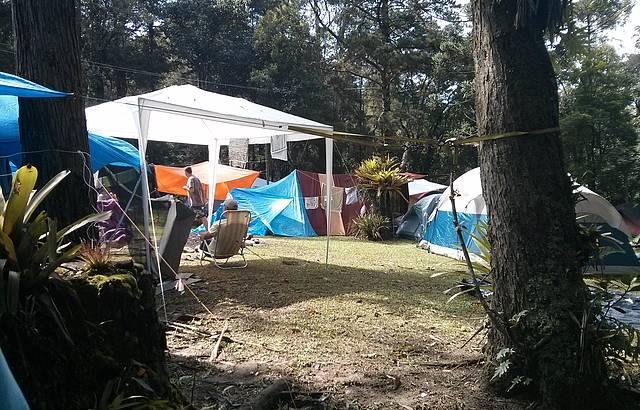 �rea do Camping