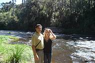 Riacho antes da Cascata do Caracol.