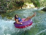 B�ias cross � praticado no rio Formoso