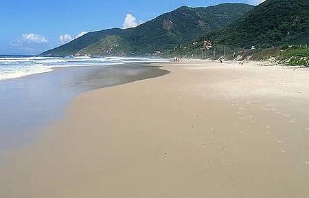 Linda praia!