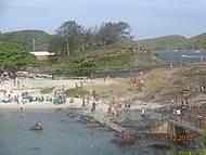 Tirada do alto das pedras da Praia do Forte.