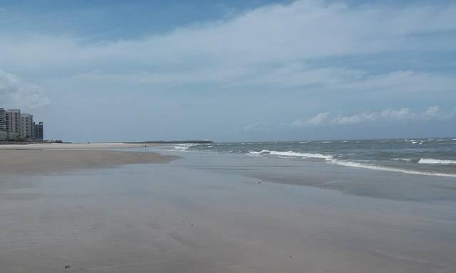 Praia ponta da areia