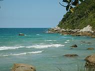 Final da Praia do Retiro dos Padres.