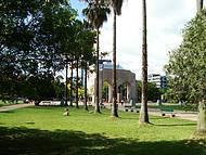 Arborizado parque farroupilha