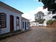 Muito bom caminhar nas ruas de Tiradentes.