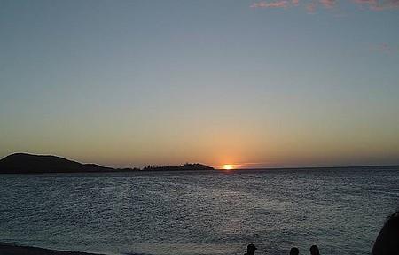 São Pedro da Aldeia - Fim de tarde na Praia do Sudoeste em São Pedro.