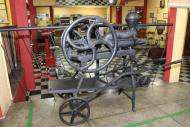 Maquinários antigos no Museu do Vinho