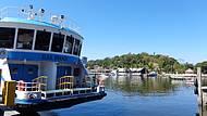 Barcas Levam até a Ilha de Paquetá