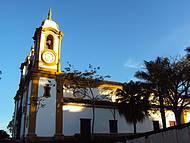 Matriz de Santo Antônio.  Fim de Tarde