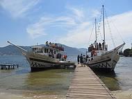 Passeio de Barco pela Lagoa da Concei��o Scuna Lady Manoela