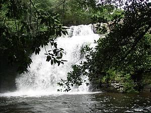 Cachoeira da Paz: Bela queda com direito a refrescante piscina natural -