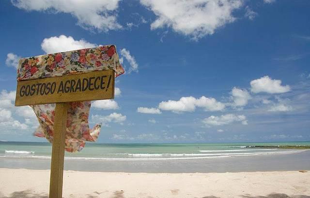 Tourinhos, praia deserta!