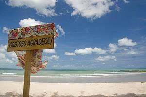 Tourinhos: Praia deserta, um paraiso!<br>