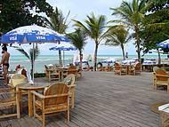 Cabana de praia maravilhosa