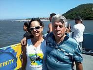 Na balsa Guaratuba/Caiobá