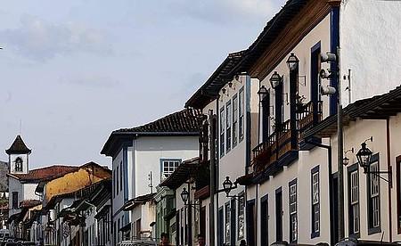 Centro Histórico - Casario colonial enfeita a cidade