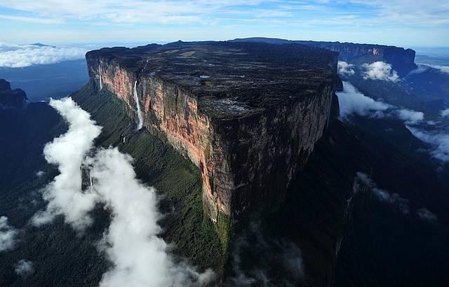 Monte Roraima (RR) de helicóptero