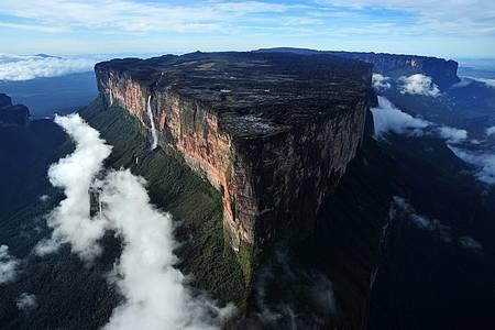 Monte Roraima (RR) de helicóptero - Visual surpreendente