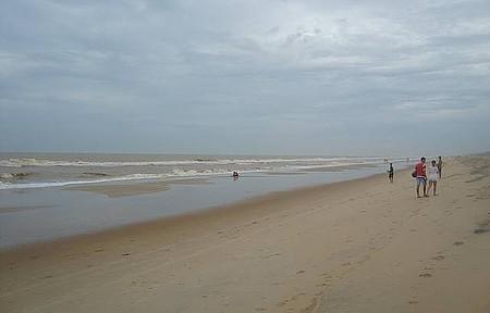 Praia Grussaí - Fim de tarde