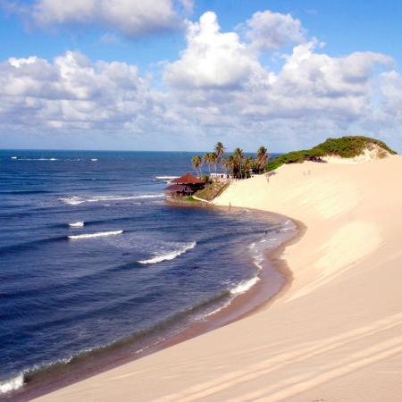 Genipabú - Linda praia onde tem os dromedarios