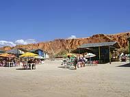 Praia em Canoa Quebrada