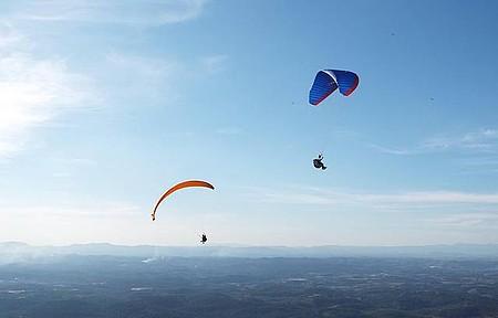 Pico do Urubu - Vôo de Paraglider