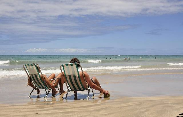 Tranquilidade em Maracaípe