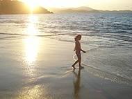 Belo Entardecer na Praia de Laranjeiras