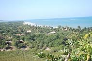Praia dos Nativos Vista do Mirante do Quadrado