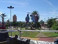 Monumento para preservação Arara Azul