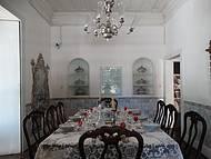 Sala de jantar do industrial Raymundo de Castro Maia