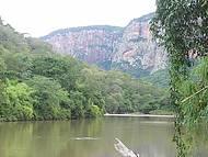 Beira do Rio em uma Pousada