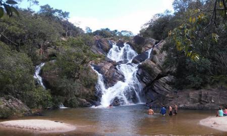 Cachoeiras do Lázaro e de Santa Maria - Lázaro e Santa Maria numa só trilha.