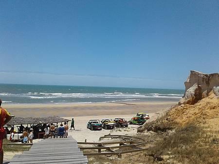Esticar em Canoa Quebrada - Praia bonita!