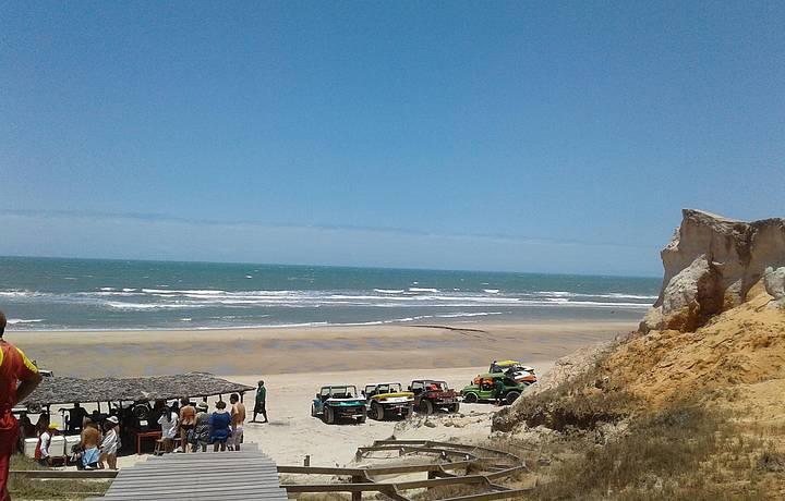 Praia bonita!