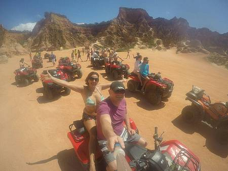 Praias do Gunga - Passeio de quadriciclo